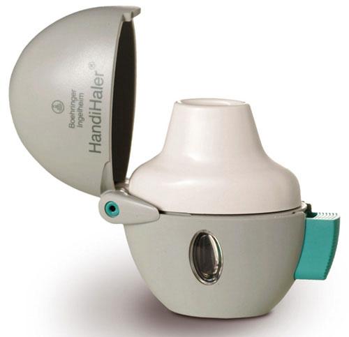 Imagen Destacada - Inhaladores. Handihaler
